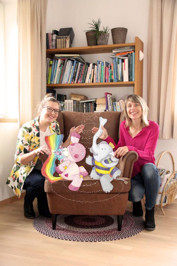 Evelyn Faulhaber und Birgit Koxeder-Hessenberger