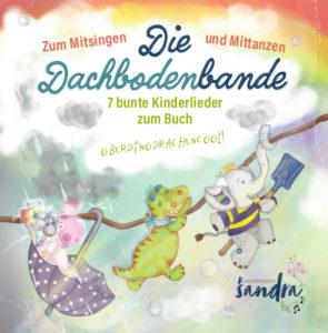Kinderlieder zum Mitsingen und Mittanzen bietet unsere CD, die die Inhalte der Dachbodenbande thematisiert.
