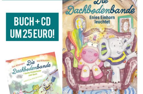 Das Buch gibt es auch im Geschenkpaket mit der Kinderlieder-CD