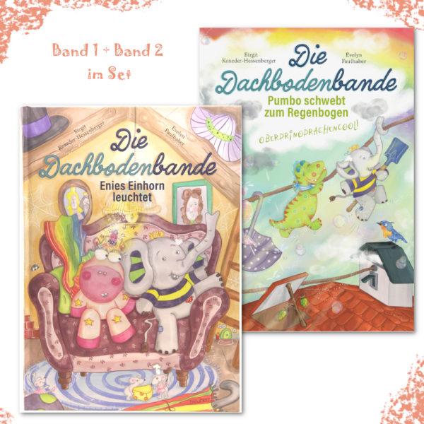 Bücherset: Band 1 und Band 2 der Dachbodenbande